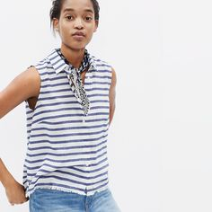 Moment Shirt in Stripe : tanks & camis   Madewell