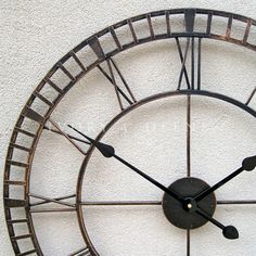 clock with wire frame - Google Search