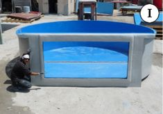 Dolphin Fiberglass Products, Inc. Poly Stock Tank, Stock Tank Pool, Diy Swimming Pool, My Pool, Koi Pond Design, Reptile House, Turtle Pond, Fish Farming, Small Pools