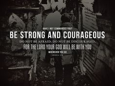 My heart is heavy and my limbs are weak, but you my God are strong.