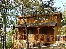 Pigeon Forge, TN: Pigeon Forge chalet rentals: Pigeon Forge Chalet 850 is a 2 bedroom, 2 bath chalet located less than 1 mile from downtown Pigeon Forge.   HEART'S  DES...