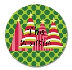 Rad Christmas Red Personalized Plate ($29.95)