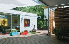 Cordell House Shipping Container Architecture