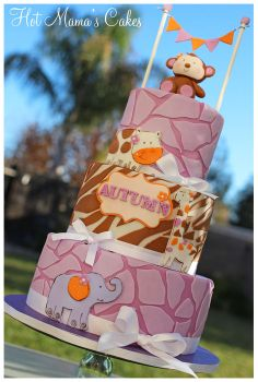 Jacana Cocalo Bedding cake - by hotmamascakes
