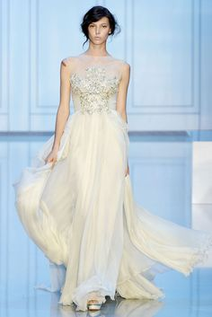 Elie Saab Fall 2011 Couture | Paris Haute Couture     a little old - but holy smokes, that's a wedding dress.