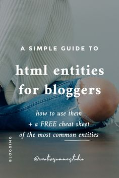 Have you ever seen beautiful symbols on other blogs without knowing where to find them? We've made a list of the most popular HTML entities for your blog posts +  a FREE cheat sheet so you can save it for later. Click here to see them and to start styling your articles. Start A Website, Beautiful Symbols, Social Media Branding, Cheat Sheets, Photography Business, Web Development, Cheating, Online Marketing, Branding Design