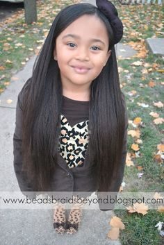 Beads, Braids and Beyond: Straightening Long Naturally Curly Hair