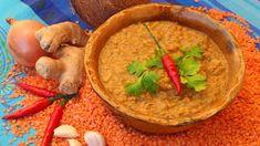 Äthiopische Fladenbrot mit Linsensoße und Grünkohl - Schmecksplosion, vegetarisch, Äthiopien. Linsensoße (Bild: Fotolia)