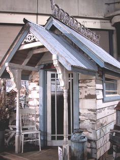 Garden Shed Plans - Scheune - Plantio Outdoor Buildings, Small Buildings, Garden Cottage, Shabby Cottage, Outdoor Rooms, Outdoor Living, Greenhouse Shed, Potting Sheds, She Sheds