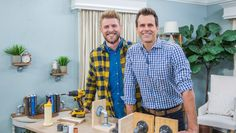 DIY expert Luke Barr shows simple ways to transform our home décor with galvanized pipes. Home And Family Crafts, Home And Family Hallmark, Make A Family, Home Crafts, Galvanized Pipe, Patchwork Blanket, Faux Fur Blanket, Quilting Rulers