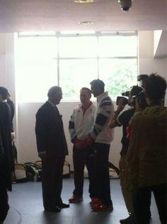Rajiv Ouseph greeted by HRH Prince Charles