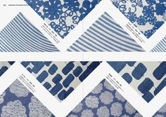 "Inside page of ""Design Ideas for Handmade Textile & Fabric"" #Pattern #Textile #Fabric"