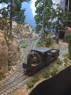 On30 Logging Railroads | Logging railroad with Climax locomotive
