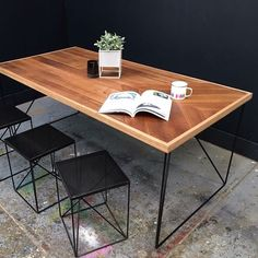 Redfox & Wilcox - Timber Dining Table - Parquetry