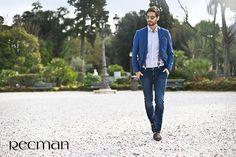 Spodnie Kenton powinny znaleźć się w każdej męskiej szafie. Dżinsy sprawdzają się w wielu casualowych stylizacjach. Kenton to spodnie wykonane z bawełny z domieszką elastanu, co powoduje, że świetnie dopasowują się do każdej sylwetki. Dostępne w salonach Recman.