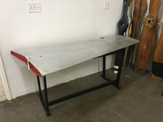 A personal favorite from my Etsy shop https://www.etsy.com/listing/449499356/piper-wing-desk-actual-aurcraft-elevator