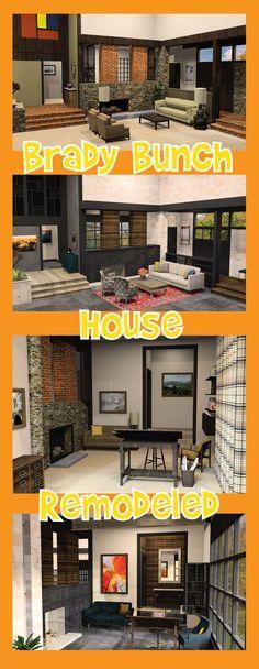 TV homes floor plans Home Tv, Condo Living, Full House, Remodels, House Floor Plans, Diorama, Restoration, Design Inspiration, Tours