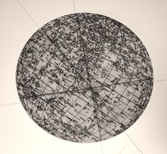 Carola Bravo. Moon Map