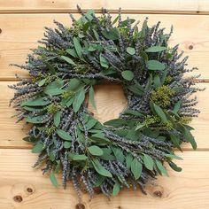 Lavender Eucalyptus Wreath