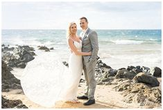 A Moment of Awe ~ Robyn & Ronald's Maui Elopement Beach Wedding Locations, Beach Wedding Photos, Beach Wedding Photography, Hawaii Elopement, Hawaii Wedding, Maui Weddings, Destination Weddings, Bridal Hair Tips, Maui Beach