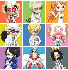 One Piece, Straw Hat Pirates