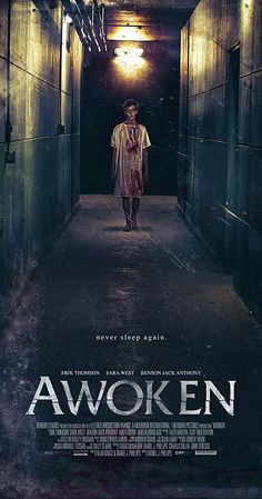 Awoken is a 2019 Australian supernatural horror feature film about a boy whose terminal sleep illness masks a dark secret. Movie To Watch List, Good Movies To Watch, All Movies, Ghost Movies, Horror Movie Posters, Best Horror Movies, Night Film, Netflix Movies, Movies Online