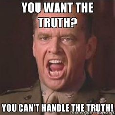 YOU WANT THE TRUTH? YOU CAN'T HANDLE THE TRUTH! | Jack Nicholson - A few good men