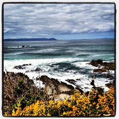 #wildsea #hermanus #southafrica Iphone Pics, South Africa, Sea, Mountains, Water, Places, Travel, Outdoor, Water Water