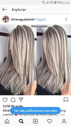 double diamond wicks omg how many deserves this beautiful hair done in my g . Silver Blonde Hair, Blonde Hair Looks, Blonde Hair With Highlights, Chunky Highlights, Red Highlights, Caramel Highlights, Truss Hair, Hair Photo, Great Hair