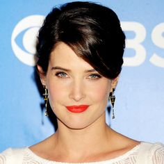 #CobieSmulders paired a true tomato red lipstick with minimal eye makeup and a clean complexion. When going for a bold lip, take a tip and tone down the rest of your makeup. http://celebrityphotos.instyle.com/dailybeautytip/photos/results.html?No=2=1