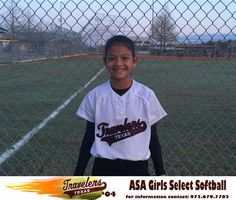 Hayeli Acosta is number 20 for the Texas Travelers 04 select softball team and in the 5th grade attending B. H. Macon Elementary. She plays Catcher, Shortstop, Outfield and First Base for the Travelers. Hayeli started playing baseball when she was 4 years old and switched to softball at age 8. Her favorite softball player is Jen Shroeder former UCLA Bruins catcher and current softball coach. Her favorite high school player is Riley Fira of the Ennis High School Lady Lions.