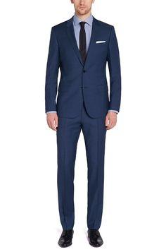 Huge/Genius Slim Fit, Super 130 Italian Virgin Wool Suit | HUGO BOSS®