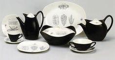 Terence Conran for Midwinter Showcases Progressive British Tableware Retro Kitchen Accessories, Terence Conran, 1950s Design, Ceramic Decor, Vintage China, Mid Century Design, Tablescapes, Fabric Design, Tea Pots