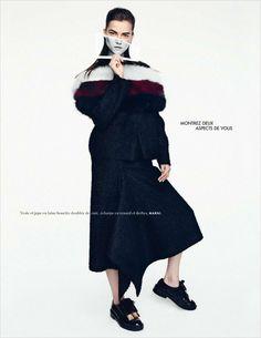 Kasia Struss by Nagi Sakai for Elle France