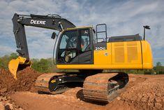 Refinements, Updated Emissions Elevate John Deere's 210G LC Excavator | Rock & Dirt Blog Construction Equipment News & Information #JohnDeere #RockandDirt #Excavators