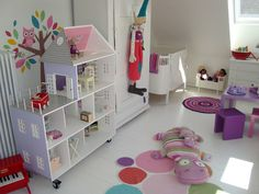 Homemade dollhouse