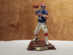 Looking For - Jim Kelly Buffalo Bills Football, Jim Kelly, Danbury Mint, The Man, Man Cave, Action Figures, Nfl, Cool Stuff, My Love