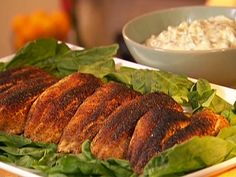 Blackened Catfish Recipe : Patrick and Gina Neely : Food Network - FoodNetwork.com