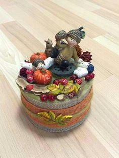 Fall-Őszi dekoráció Hobbit, Fall Decor, Centerpieces, Jar, Decoration, Handmade, Home Decor, Creative, Decor