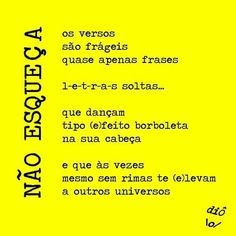 Frases, Verses