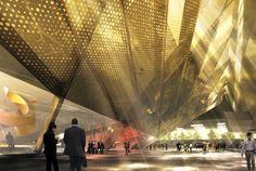 RECityMagazine - http://www.recitymagazine.com/project-153-saucier-perrotte-architects-finalist-bogota-international-conventi
