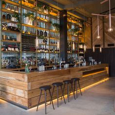 The Refinery (Regent Place, London, UK) / Fusion DNA . Image Courtesy of The Restaurant & Bar Design Awards