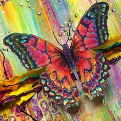 Tim Holtz - Stampersanonymous butterfly x