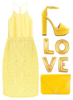 """""""yellow."""" by goldiloxx ❤ liked on Polyvore"""