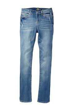 Distressed Straight Jean on HauteLook #ReitmansJeans