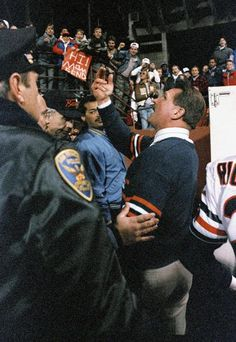 Chicago Bears head Coach Mike Ditka