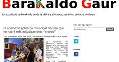 """Lanzan un blog que repasa la actualidad de Barakaldo """"desde la sátira y el humor"""""""