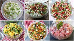 God søndagsmorgen! Som nevnt forrige søndag så tar eg en liten pause fra det faste søndagsinnlegget med vekemeny, og istedenfor lager ulike temainnlegg med fokus på sommarmat. Forrige søndag delte eg10 ulike tips til grillmat/tilbehørtips til grillmat, men i dette innlegget utelukka eg salater, for det ville eg ha eit eget innlegg på 🙂 Dagens … Frisk, Tzatziki, Cobb Salad, Salsa, Bacon, Food And Drink, Mexican, Ethnic Recipes, Salsa Music