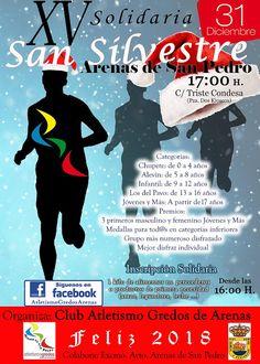 TietarTeVe en Gredos: 31 Diciembre: XV San Silvestre Solidaria de Arenas...