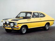 1971 Opel Kadett (B) Rallye